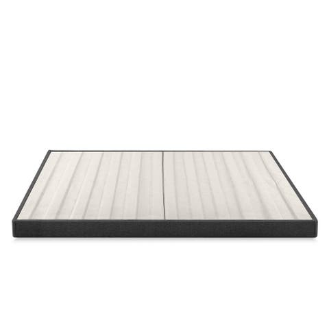 Priage by Zinus 4 Inch Essential Box Spring, Mattress Foundation, Easy Assembly Required