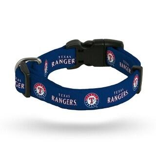 Texas Rangers Pet Collar Size S