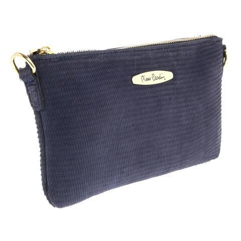 Pierre Cardin 1382 BLU Dark Blue Shoulder Handbags