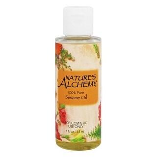 Nature's Alchemy Carrier Oil Sesame 4-ounce