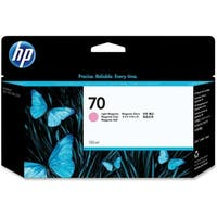 HP 70 130-ml Light Magenta DesignJet Ink Cartridge (C9455A) (Single Pack)