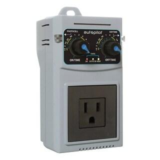 Autopilot APCTART Adjustable Recycling Timer, Analog, 24 Hour, 120V