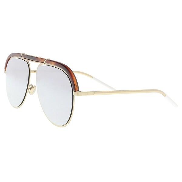 4086a126ae Christian Dior DIORDESERTIC 02IK Havana Gold Aviator Sunglasses - 58-14-145