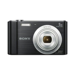 Sony Cyber-shot W800 Compact Digital Camera (Black)