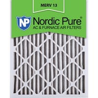 Nordic Pure14x24x2 Pleated MERV 13 AC Furnace Air Filters Qty 12