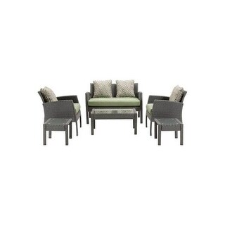 Hanover Outdoor CHEL-6PC-GRN Chelsea 6-Piece Patio Set in Cilantro Green