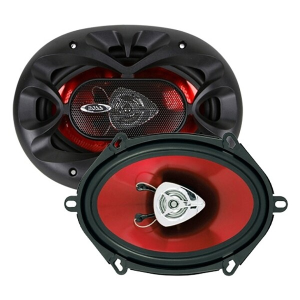 BOSS Audio CH5720 225 Watt (Per Pair), 5 x 7 Inch, Full Range, 2 Way Car Speakers (Sold in Pairs)
