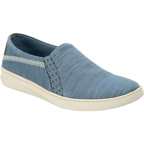 Bare Traps Women's Yadier Slip On Sneaker Washed Denim Diva Fabric