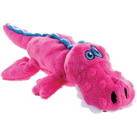 goDog Just For Me with Chew Guard Small-Pink Gator