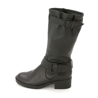 Bucco Women's Mid-Calf Black Riding Boots - Free Shipping On ...