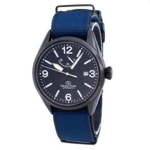 Orient Men's RE-AU0207L00B 'Orient Star' Blue Nylon Watch