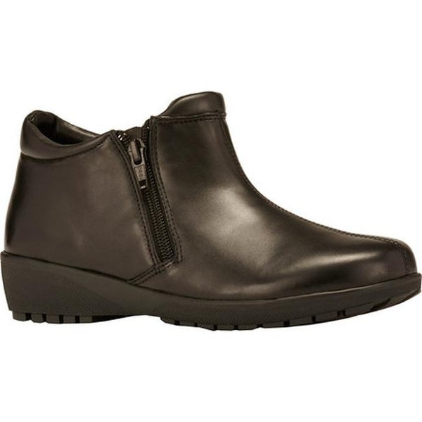 Walking Cradles Women's Zeno Bootie Black Nappa Leather