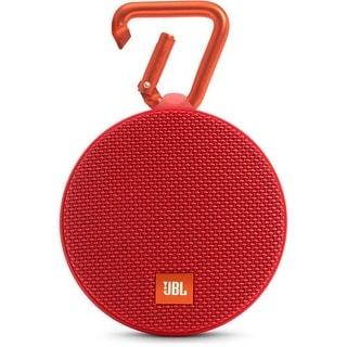 JBL Clip 2 Portable Bluetooth Speaker - Red