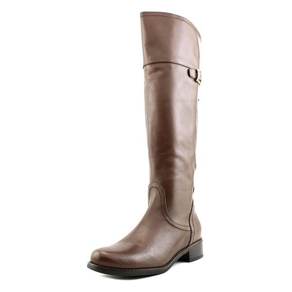 Blondo Vivi Women Round Toe Leather Knee High Boot
