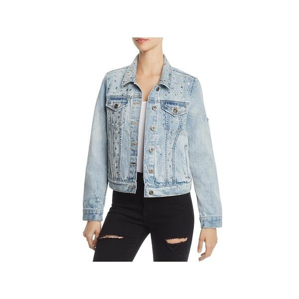 Shop Sunset Spring Womens Denim Jacket Fall Fashion Free