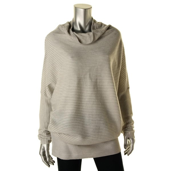 Kiind Of Womens Tori Pullover Sweater Oversized Mock Turtleneck
