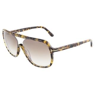 Tom Ford FT0442/S 53F ROBERT Blonde Havana Square sunglasses