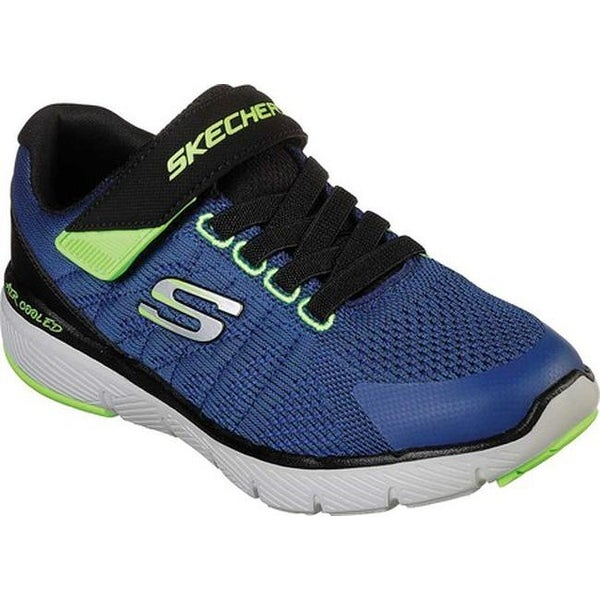 b2f5067d2935 Shop Skechers Boys  Flex Advantage 3.0 Transvert Sneaker Royal Black - Free  Shipping Today - Overstock.com - 27348342