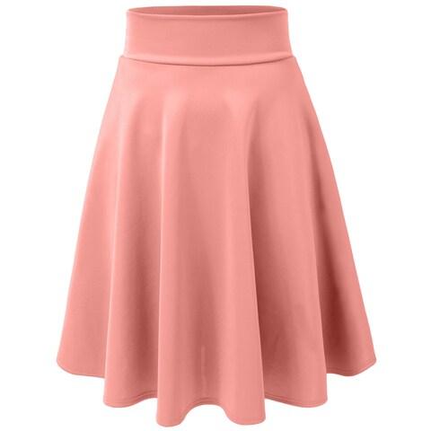 NE PEOPLE Midi Skirt Made In USA (NEWSK21)