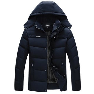 Link to Men's Coats Hooded Fleece Faux Fur Lined Warm Coats Outwear Winter Jackets Similar Items in Women's Outerwear