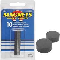 Master Magnetics 10Pc Ceramic Disc Magnet 07002 Unit: EACH