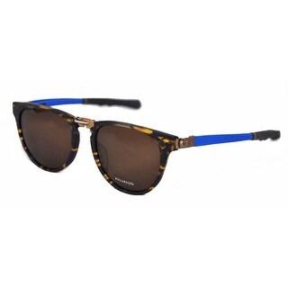 Ceo V Vison Blue/Lt.Blue Twister Extended Temples Bronze Polarized Sunglasses