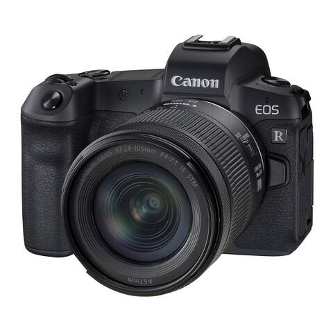 Canon EOS R Mirrorless Digital Camera with 24-105mm f/4-7.1 Lens