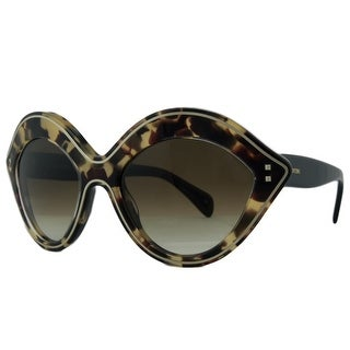 Valentino V689/S 200 Vintage Tortoise Oval Sunglasses