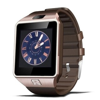 TechComm DZ09 Smart Watch with 0.5MP Camera Bluetooth GSM for Android Phones (Option: Silver)