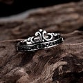 The Only Prince's Crown Stainless Steel Ring - Thumbnail 1