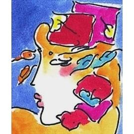 Profile Series I, Ltd Ed Lithograph, Peter Max