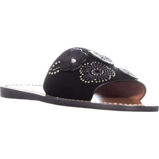 ae451b17332d2 Coach Womens Murielle Open Toe Casual Slide Sandals · Quick View