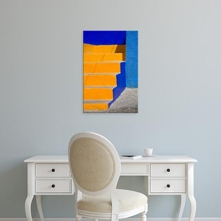 Easy Art Prints Julie Eggers's 'Colorful Stairs Of Building Iii' Premium Canvas Art
