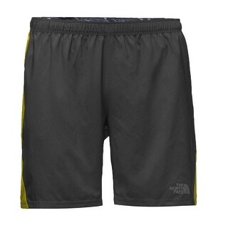 The North Face Acid Yellow Mens Size Medium M Athletic Shorts