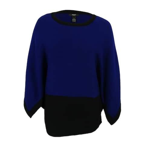 Alfani Women's Kimono Sleeve Colorblock Sweater