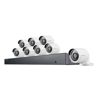 Samsung Wisenet 16 Channel 4MP Super HD Security System Samsung Wisenet 16 Channel 4MP Super HD Security System