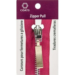 Gold Flat Wave - Coats Zipper Pull