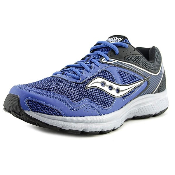 8189ce115b2d Shop Saucony Grid Cohesion 10 Men Round Toe Synthetic Blue Running ...