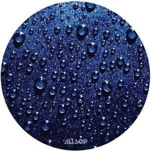 Allsop 29407 Allsop Raindrop Slimline Mouse Pad - Blue
