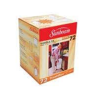 Sunbeam 87072 Trashrac Trash Bags, 5 Gallon, 72 Bags