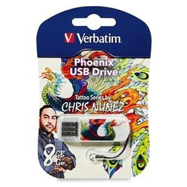 VERBATIM 98662 8GB USB Phoenix, Tattoo
