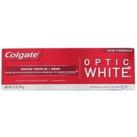 Colgate White Anticavity Fluoride Toothpaste Sparkling Mint, 3.5 oz