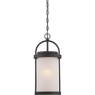Nuvo Lighting 62/655 Willis 1 Light LED Outdoor Pendant - 9 Inches Wide - textured black