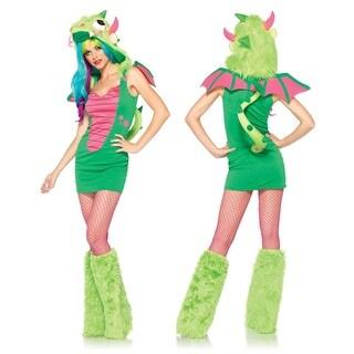Sexy Puff the Magic Dragon Womens Halloween Costume