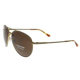 Ralph Lauren PH3094 929273 Copper Aviator Sunglasses
