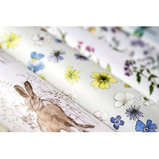 """Craft Consortium Double-Sided Paper Pad 12""""X12"""" 40/Pkg-Wildflower Meadow"""