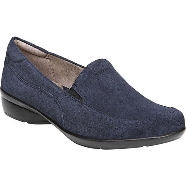 Channing Slip-On Navy Suede Leather