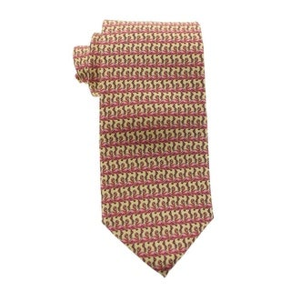 Tommy Bahama Mens Standing Flamingo Neck Tie Silk Pattern - o/s