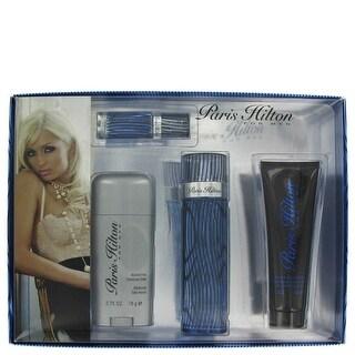 Gift Set -- 3.4 oz Eau De Toilette Spray + 3 oz Body Wash + 2.75 oz Deodorant Stick + .25 Mini EDT Spray