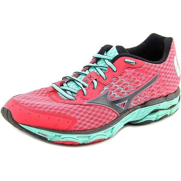 Mizuno Wave Inspire 11 Women Pink/Black/Aqua Running Shoes
